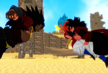 Request Gogeta, Kefla and SSJ4 Orion vs Nightmare  by WOLFBLADE111