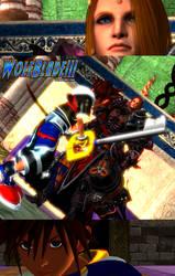 Sora vs Zenos by WOLFBLADE111