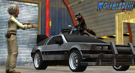 GREAT SCOTT! Relax Doc I'm Making Some Upgrades. by WOLFBLADE111