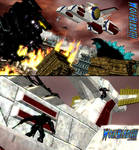 A Skirmish on Two Fronts. by WOLFBLADE111