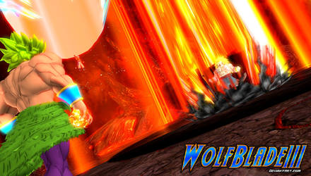 The Evil Saiyan Returns: Immense Powers Clash. by WOLFBLADE111