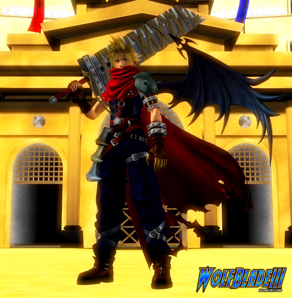 Cloud Strife Kh By Wolfblade111 On Deviantart