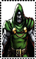 Stamp: Doctor Doom