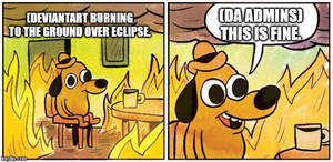 Meme: This is NOT FINE!