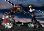 Sora (Rogers) vs Sharon Rogers by WOLFBLADE111