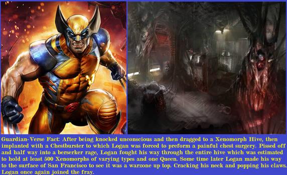 Guardian-Verse Fact: Hive Killer Wolverine