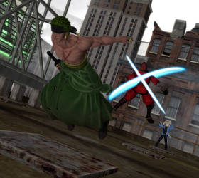 CFR: Zoro Vs The Hand Featuring Delirious