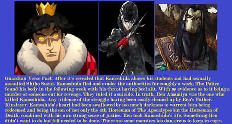 Guardian-Verse Fact: Son of Death.