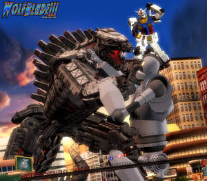 A Fight For Survival Against MechaGodzilla
