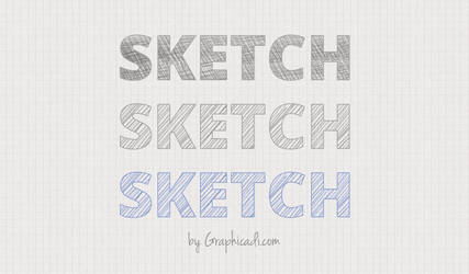 Free Sketch Layer Styles for Photoshop by Graphicadi