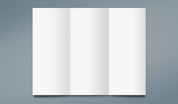 Free Trifold Mockup for Photoshop