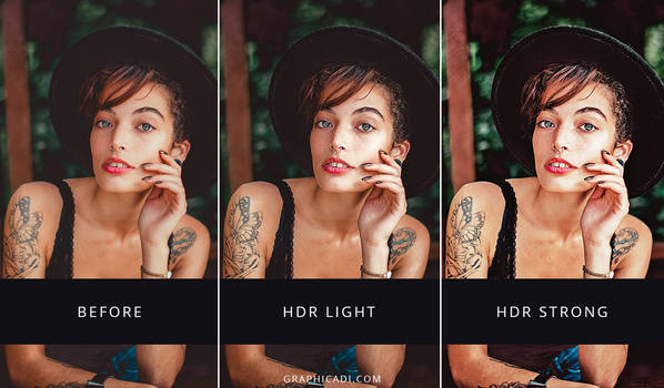 Free HDR Actions for Photoshop