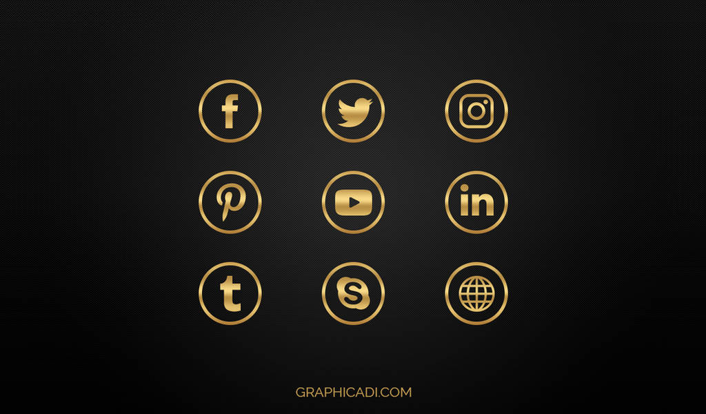 Free Social Media Icons by Graphicadi