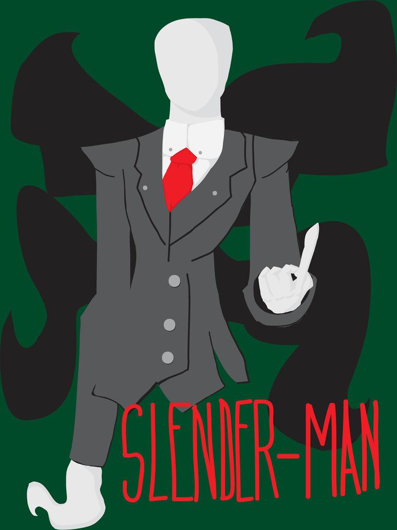 Slender-Man: The Guardian Angel. by BionicleKid97