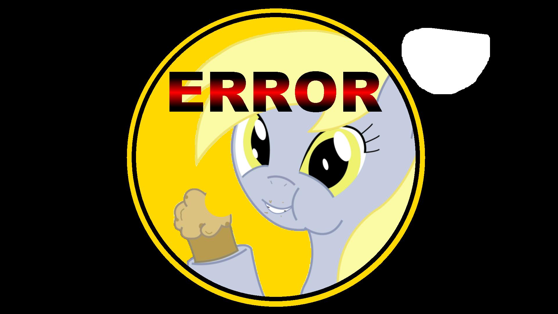 Derpy Error by ArdonSword