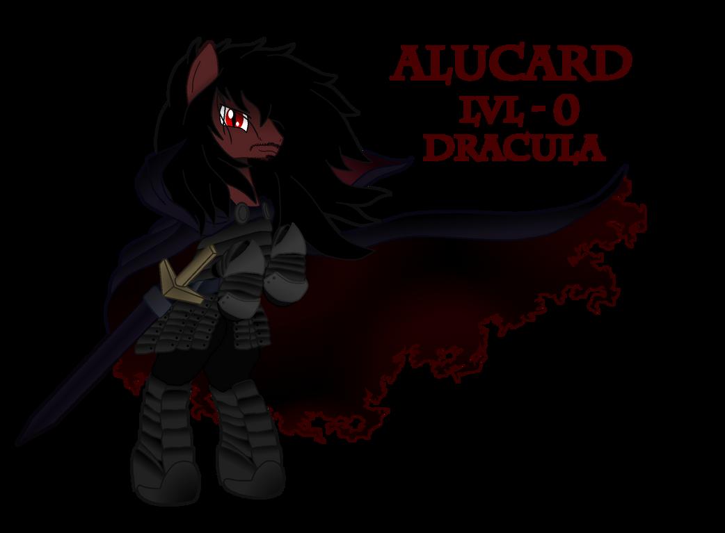 Alucard's LvL 0 Form - Dracula by ArdonSword on DeviantArt