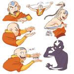 Aang - Practice Sketches