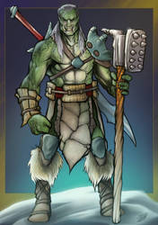 Orc Fighter  by phix701