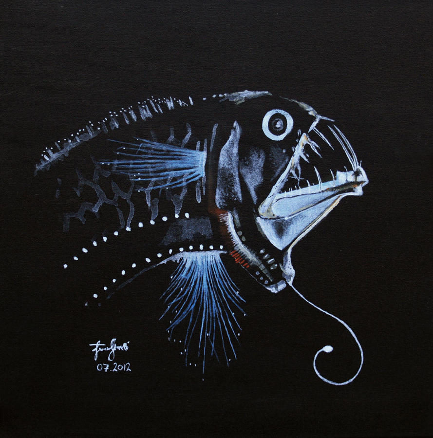 deep water fish by ficus on deviantart