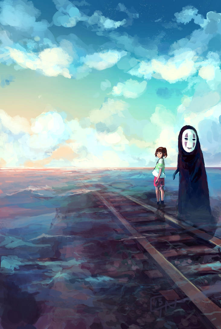 Spirited Away To Sixth Station By C Dra On Deviantart
