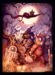 The Quest for Alls Hallow's Treats