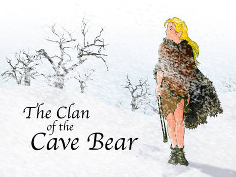 The Clan of the Cave Bear Desk