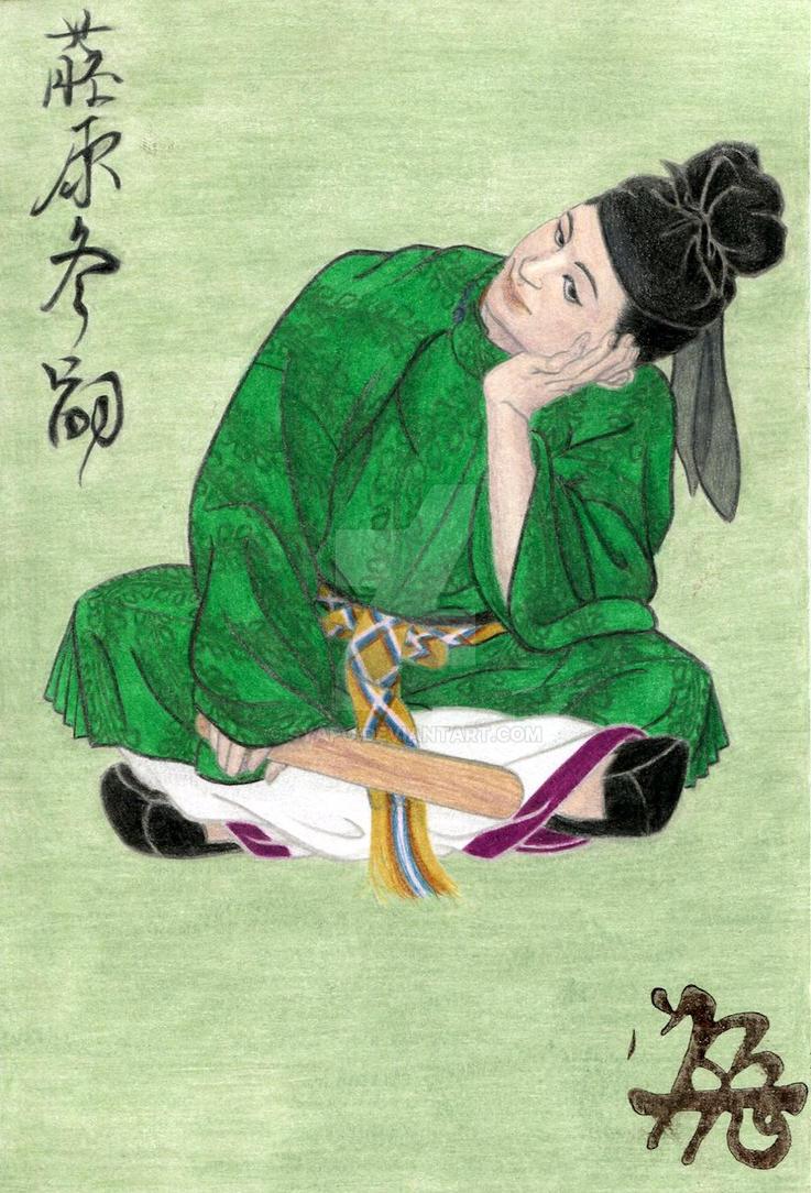 Fujiwara No Fuyutsugu by syapo