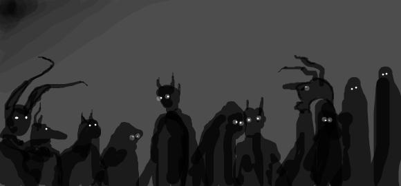 Shadow People by ledphloydgeuse on DeviantArt