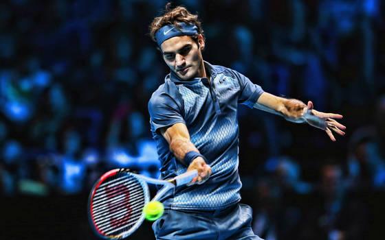 1322~ Roger Federer by CoffePix