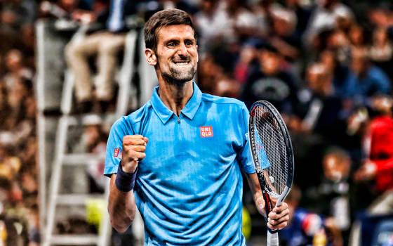 1324~ Novak Djokovic by CoffePix