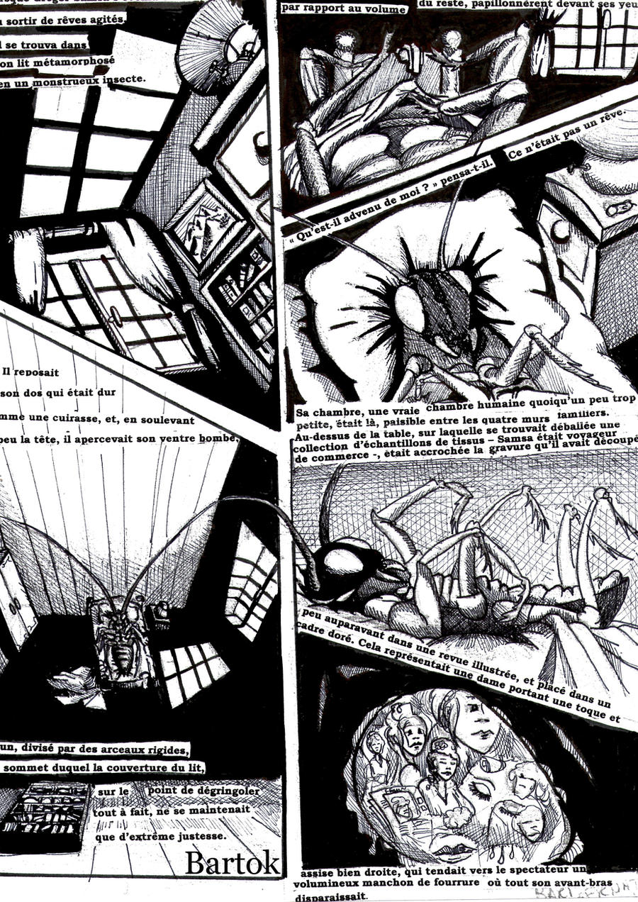 the metamorphosis kafkas connection with gregor Gregor samsa in franz kafka's the metamorphosis suffers an unspeakable   really referring to in his tale, is an essential reality about relationship, or non.
