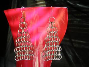European Chain Maille Earrings