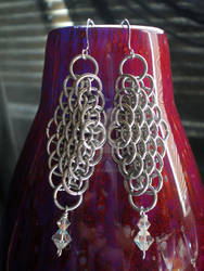 Dragonscale Earrings