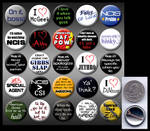 NCIS 1' buttons