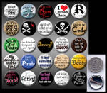 Pirates 1' buttons