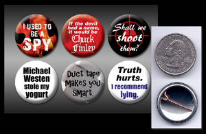 Burn Notice 1' buttons