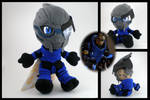 Mass Effect - Garrus plushie