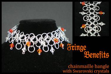 Fringe Benefits bracelet