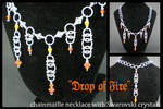 Drop of Fire necklace by eitanya