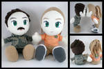 Airman and wifey plushies