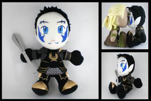 Aetir plush - custom DA Warden by eitanya