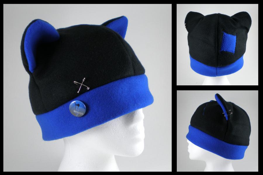 S\'punked Out fleece cat hat by eitanya on DeviantArt
