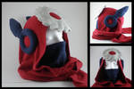 Metalman hoodie scarf