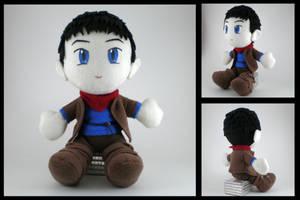 Merlin plushie by eitanya