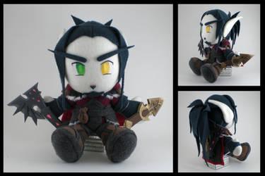 WoW - Blood Elf Rogue plushie by eitanya