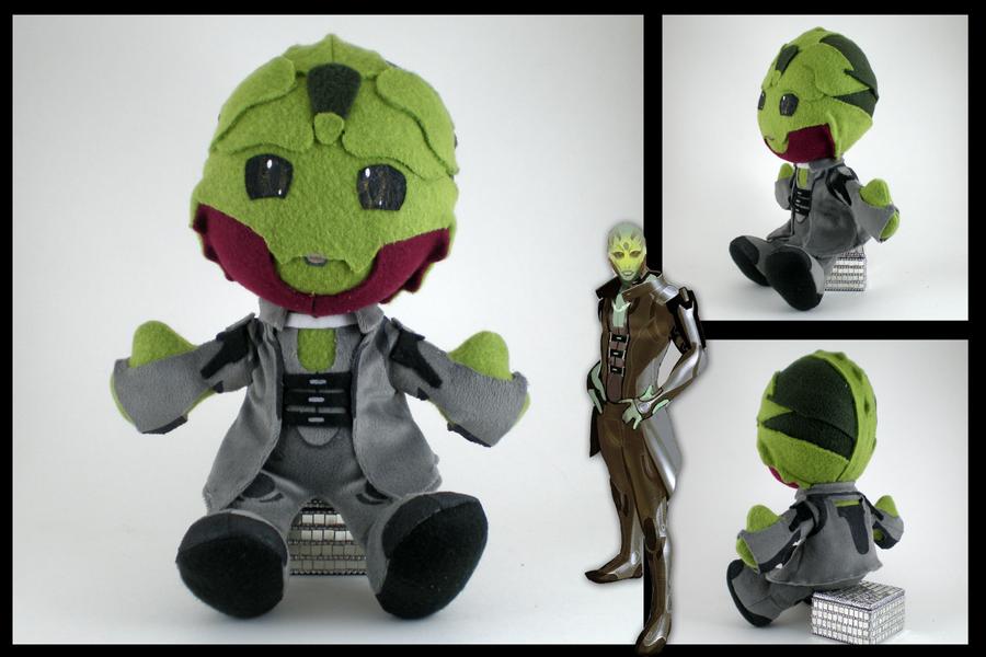 Mass Effect - Thane plushie by eitanya