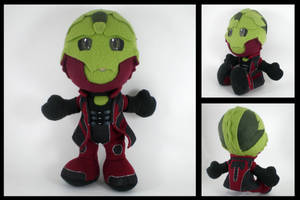 Thane plushie - alternate by eitanya