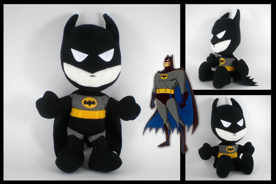 Batman TaS plushie by eitanya