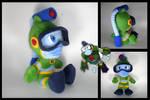 Megaman - Bubbleman plushie