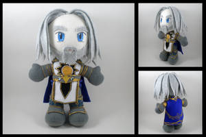 WoW - Tirion Fordring  plushie by eitanya